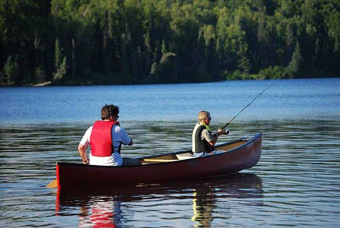 Tips for outfitting a canoe for fly fishing outdoorsman time for Fly fishing canoe