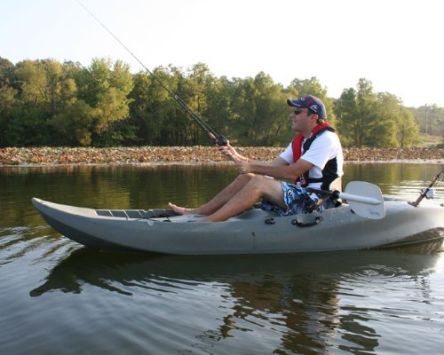 Angler picks best fishing kayaks for the money for Fly fishing kayak